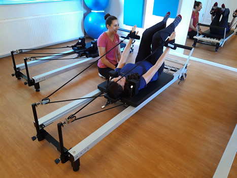 Reformer Pilates classes at Physiofit Leeds in Horsforth